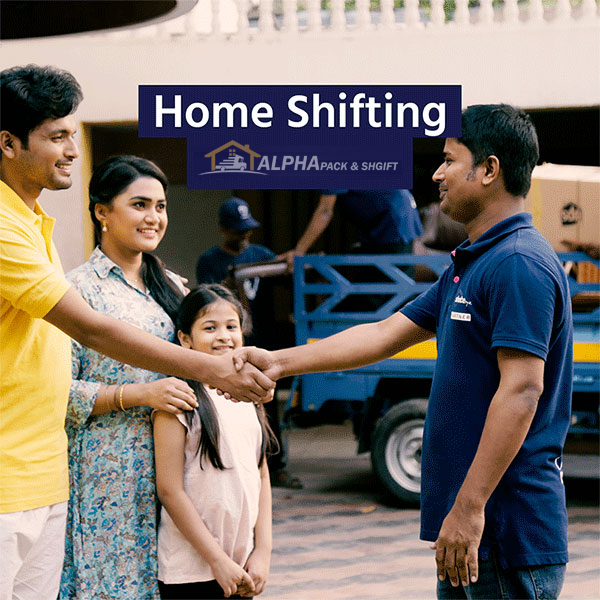 home and office shifting service provider succesfully moved home and they are smiling shaking hand